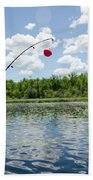Fishing Bath Towel
