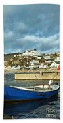 Fishing Village Of Molle In Sweden Bath Towel