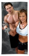 Fitness Couple 17-2 Hand Towel
