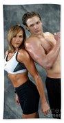 Fitness Couple 43 Bath Towel