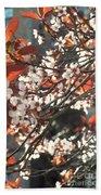 Five Petals - Spring Blossoms Bath Towel