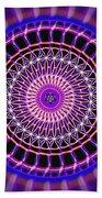 Five Star Gateway Kaleidoscope Bath Sheet by Derek Gedney