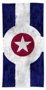 Flag Of Indianapolis Bath Towel