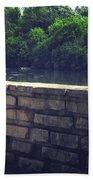 Flagstone Wall Bath Towel