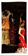 Flamenco Series #6 Bath Towel