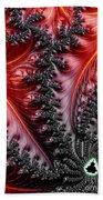 Flames - A Fractal Abstract Bath Towel