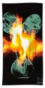 Flaming Personality Bath Towel