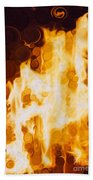 Flaming Waters Hand Towel