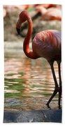 Flamingo Bath Towel
