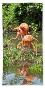 Flamingo Island Bath Towel