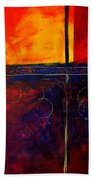 Flash Abstract Painting Hand Towel