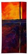 Flash Abstract Painting Bath Towel