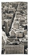 Flatiron Building - New York City Bath Towel