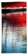 Red Boat Serenity Bath Towel