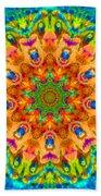 Flight Mandala Hand Towel