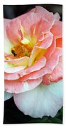 Floral Bee Bath Towel