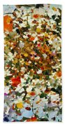 Floral Chaos Hand Towel