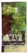 Floral - Flowers - One Way Bath Towel