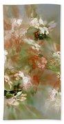 Floral Fractal 030713 Bath Towel
