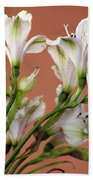 Floral Highlights Bath Towel