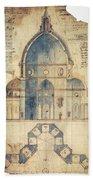 Florence: Brunelleschi Bath Towel