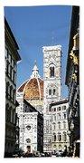 Florence Italy Santa Maria Fiori Duomo Bath Towel