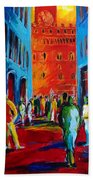 Florence Sunset Bath Towel