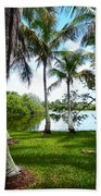 Florida Lake Bath Towel
