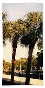 Florida Trees 2 Bath Towel
