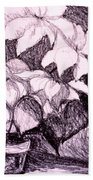 Flower Burst Original Bath Towel