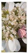 Flower Crab Spider Bath Towel