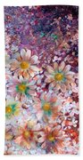 Flower Fantasy Bath Towel