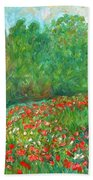 Flower Field Hand Towel