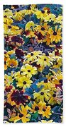 Flower Garden Bath Towel