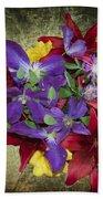 Flower - Garden Joy - Luther Fine Art Bath Towel
