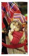 Flower Hmong Baby 01 Bath Towel