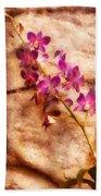 Flower - Orchid - Just Splendid Bath Towel
