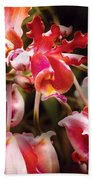 Flower - Orchid - Oncidium Orchid - Eye Candy Bath Towel