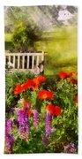Flower - Poppy - Piece Of Heaven Bath Towel