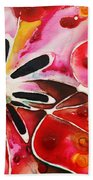 Flower Power - Abstract Floral By Sharon Cummings Bath Towel