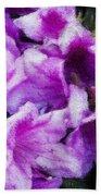 Flowers 2078 Lux Bath Towel