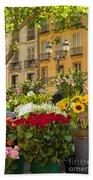 Flowers At Market Bath Towel