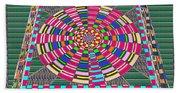 Focus Target Yoga Mat Chakra Meditation Round Circles Roulette Game Casino Flying Carpet Energy Mand Bath Towel
