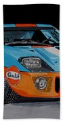 Ford Gt40 Bath Towel