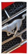 Ford Mustang Bath Towel