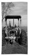 Ford Tractor Rear View Bath Towel