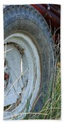 Ford Tractor Tire Hand Towel
