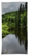 Forest Lake - Quebec - Canada Bath Towel