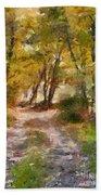 Forest Path Bath Towel