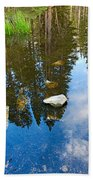 Forest Reflection Bath Towel